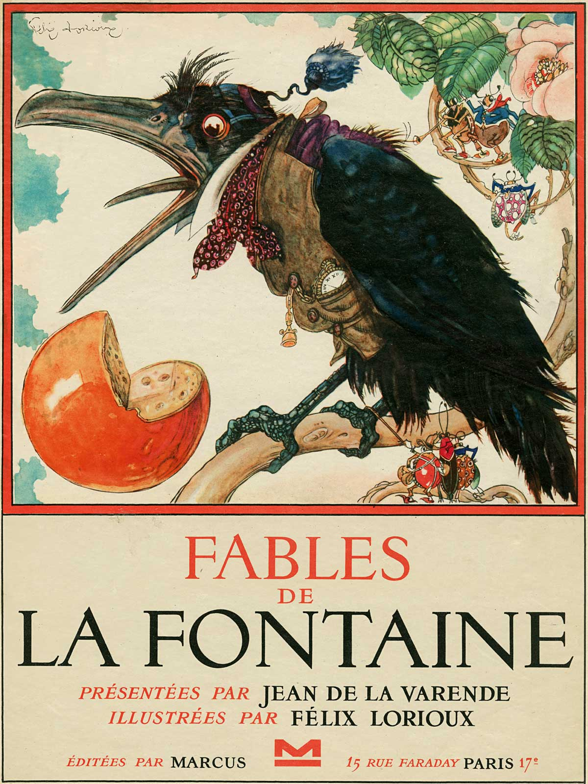 Fables illustrated by FélixLorioux. (EmptyMansionsBook.com)