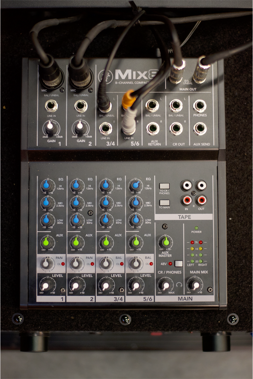 Figure 7: A closer look at the mixer