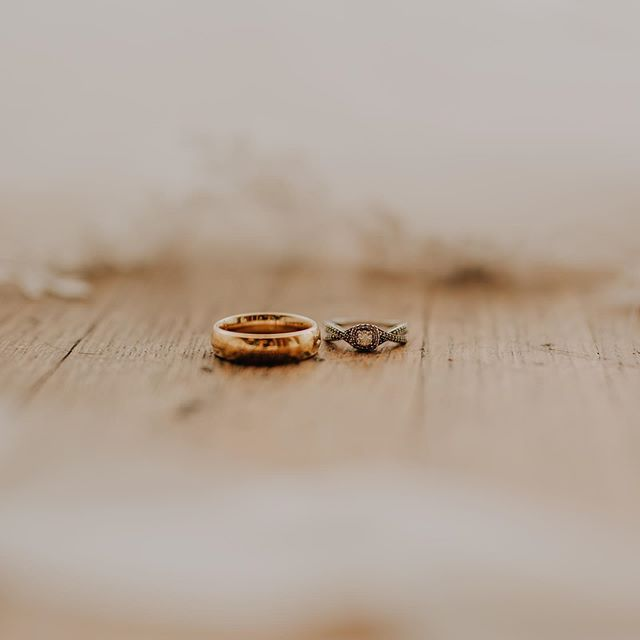 And the two are united into one. 👫 • #weddingrings #marriage #covenant #ozarks