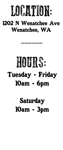 Rhubarb Market hours
