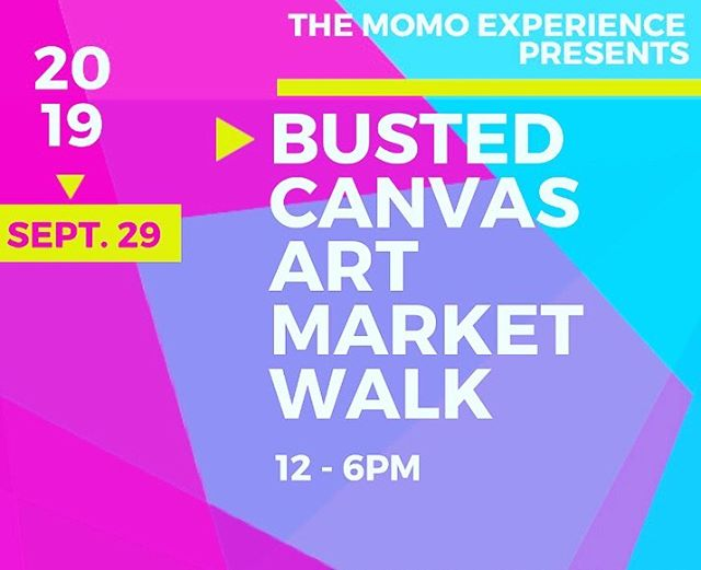 Presenting: Busted Canvas Art Market Walk. Hosted by @themomoexperience - Sunday, September 29th. 12-6p. Live body art by @beyondthecanvassa 3-9p!  #localartist #themomoexperience #btc #beyondthecanvas #sanantonio #art #bodypaint #creativetalent #liveart #satx #craftbeer #local #bustedsandal #brewing #drinklocal #texascraft #instabeer #keepSAreal #TXBeer #beerstagram