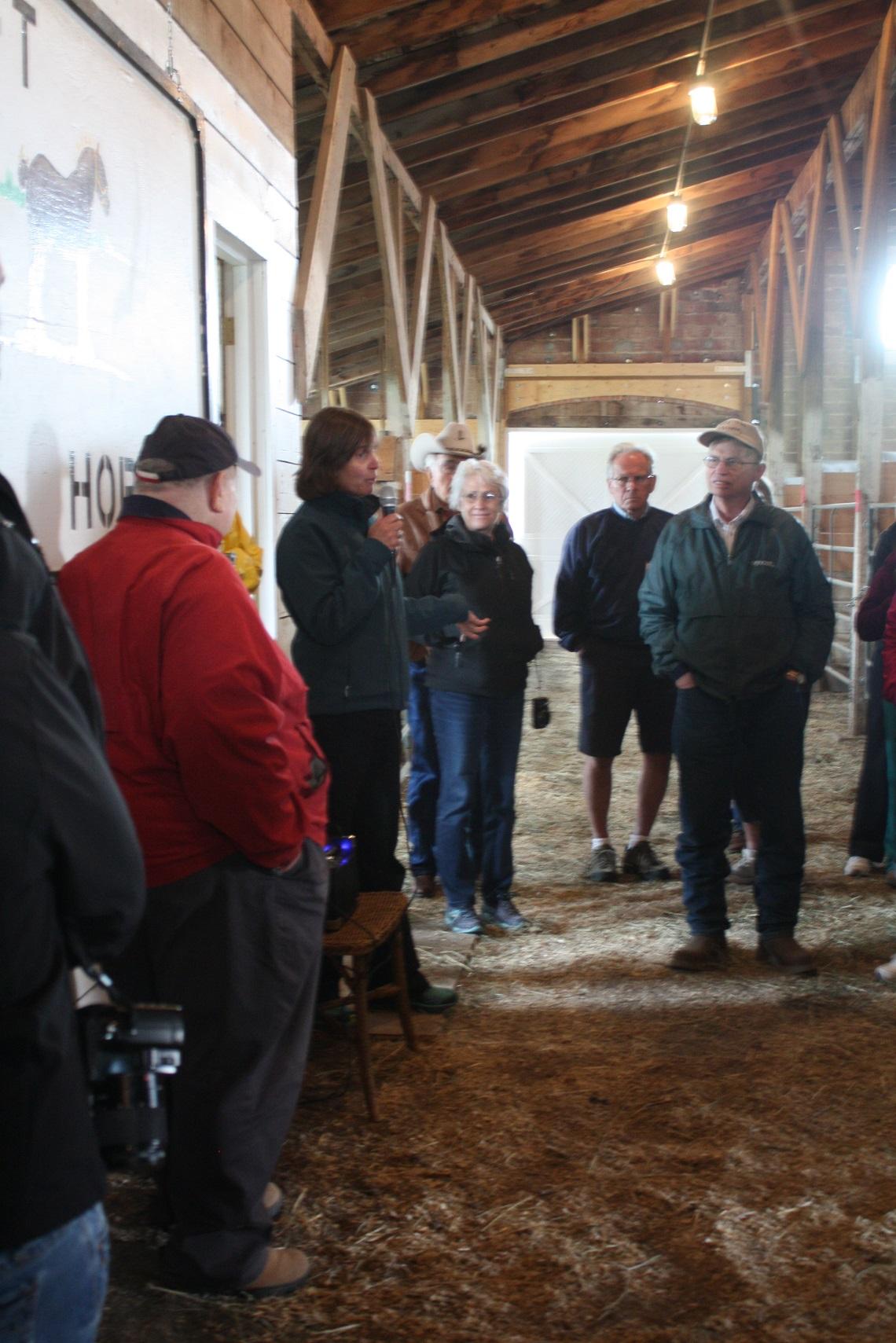 chere talking at draft horse barn.jpg