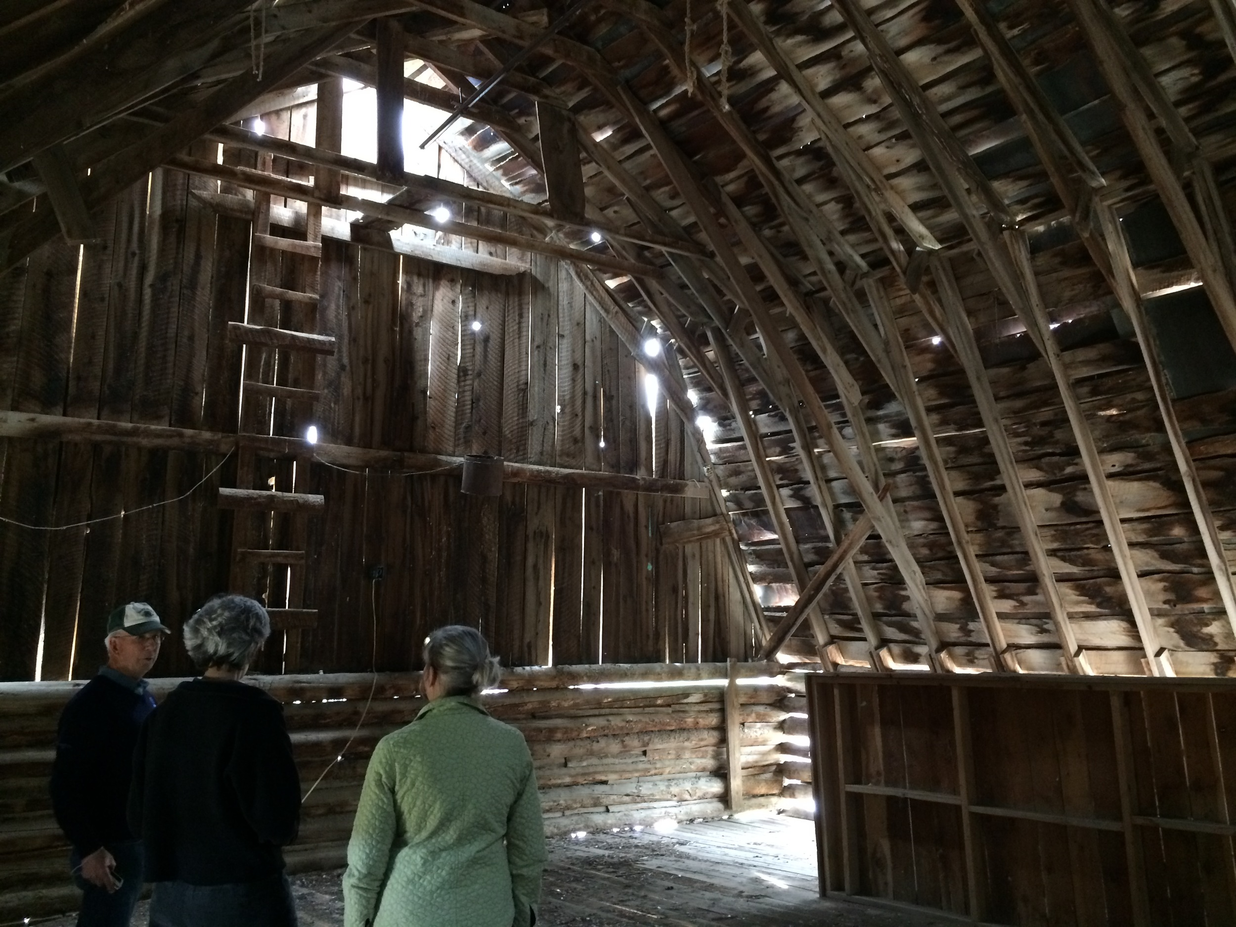 The loft in the Schwend Barn.