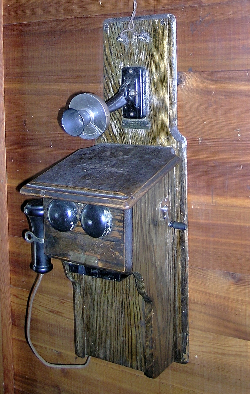 Upper Blacktail Deer Creek Patrol Cabin Crank Telephone on S.jpg