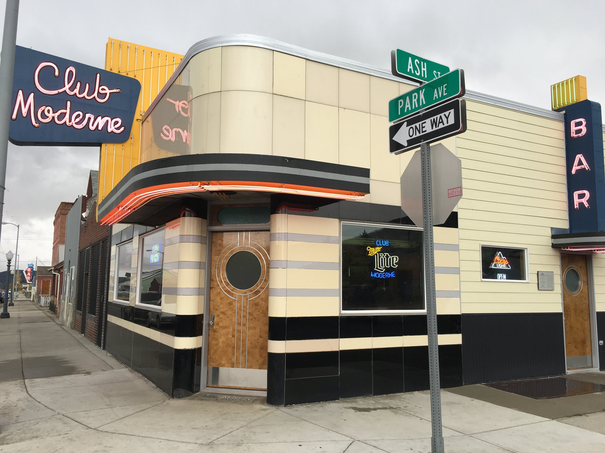 Luck and love helped restore the Club Moderne bar after a devastating fire in fall 2016.