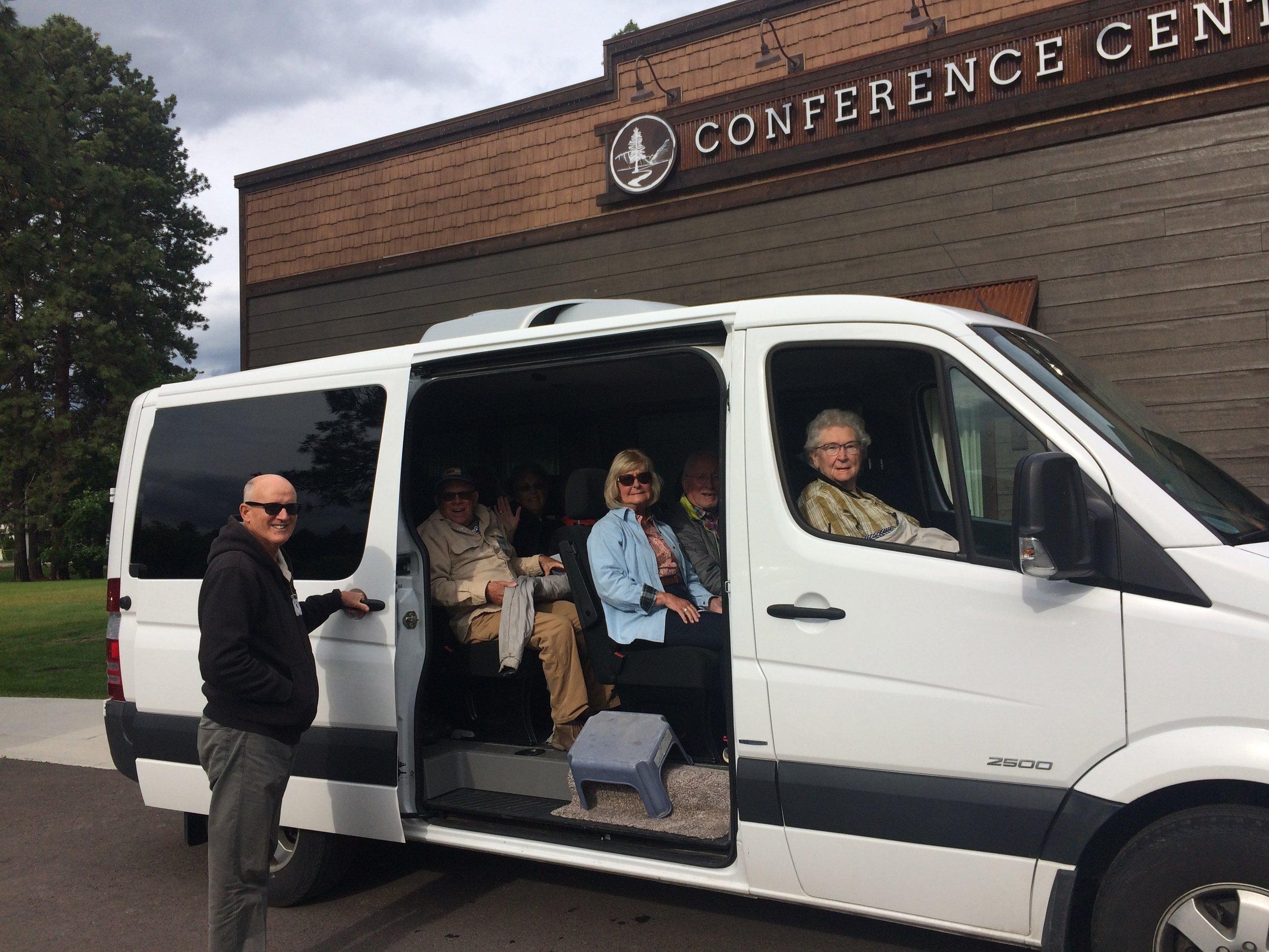 Spotted Bear Sprinter Tour
