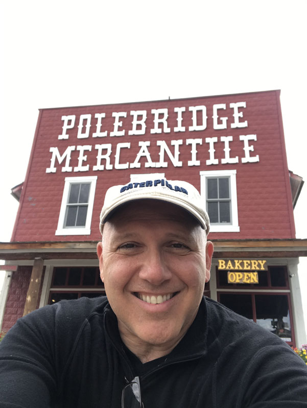 Being at Polebridge Merc just makes you happy.