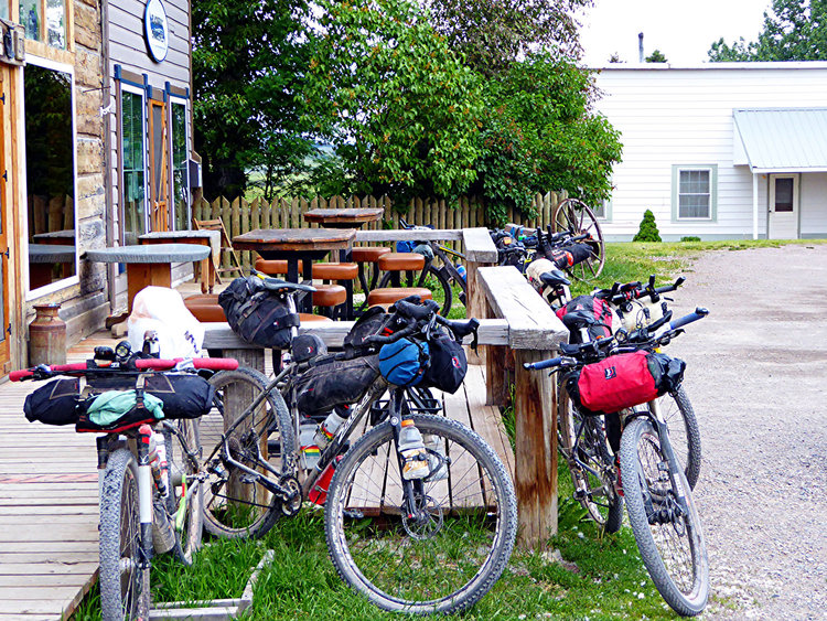 Cycle tourism has helped bring new life to rural Ovando.