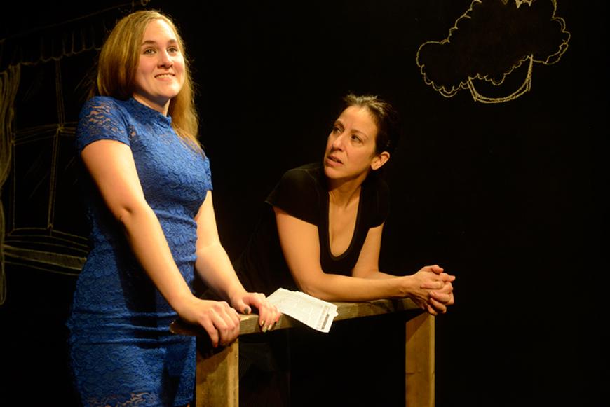 Lulu Fogarty and Christine Verleny
