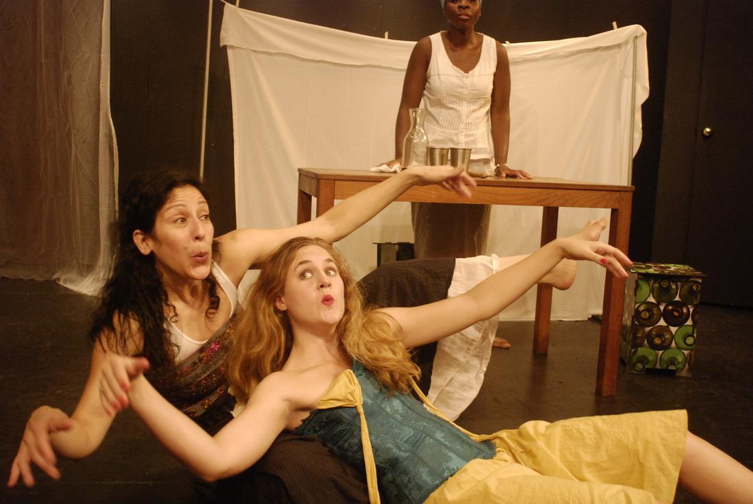 Christine Verleny, Lulu Fogarty and Colista K. Turner