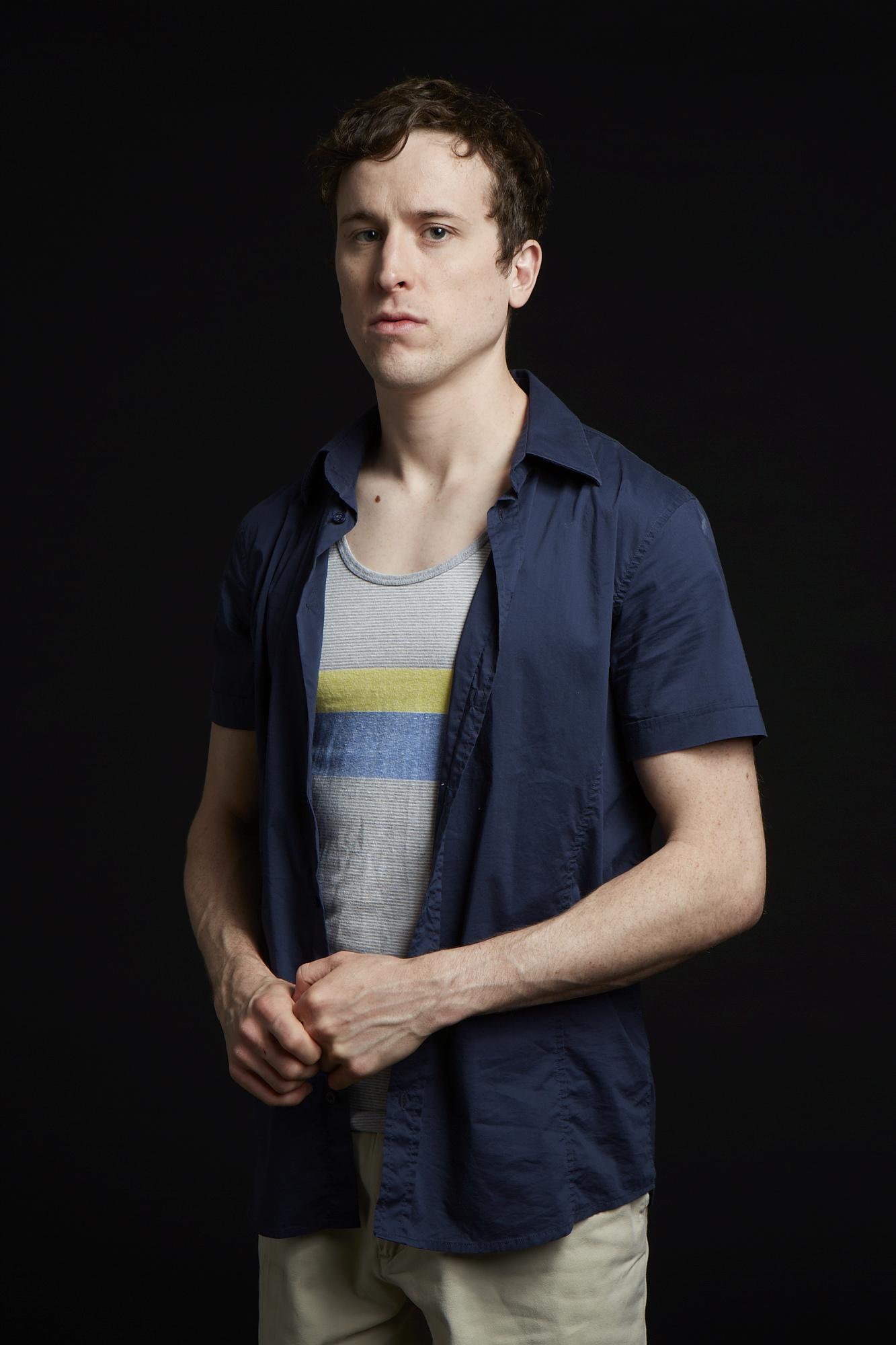 Stephen James Anthony as Ryan / Photo by Evan Iskovitz