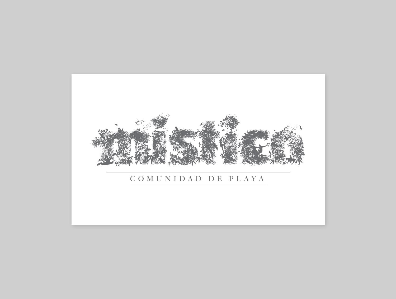 EL RETO: Contar toda la historia del proyecto a través de su logo.  THE CHALLENGE: Tell the complete story of the project through its logo.