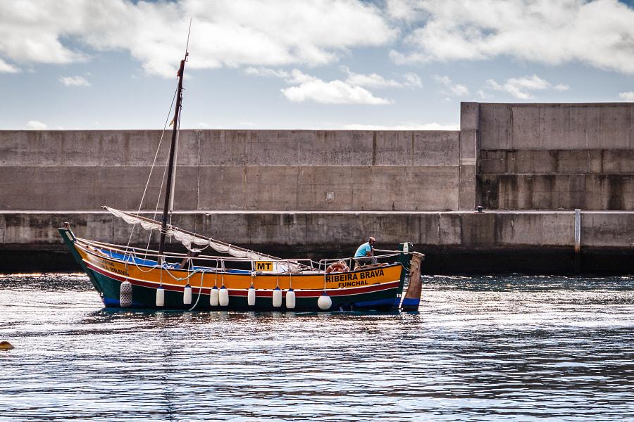Our boat the Ribeira Brava