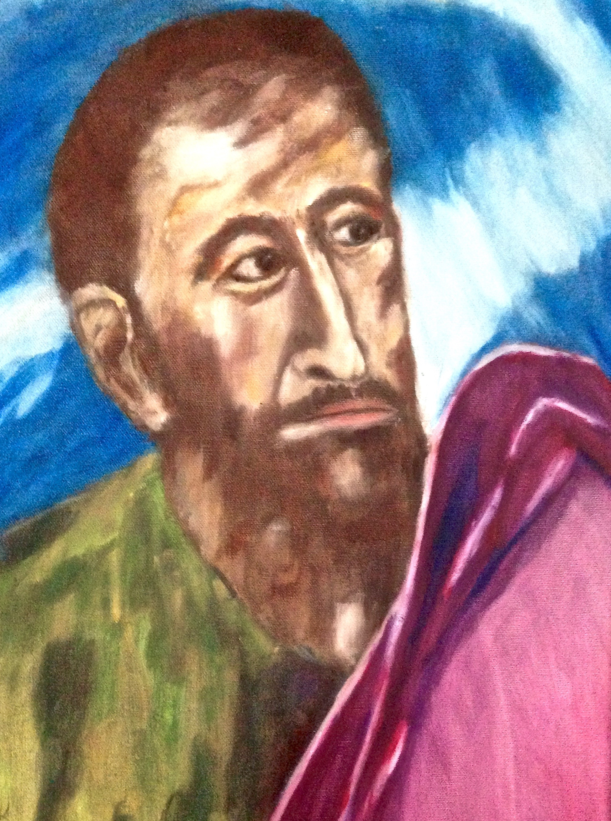 Portait of a Man (after El Greco)