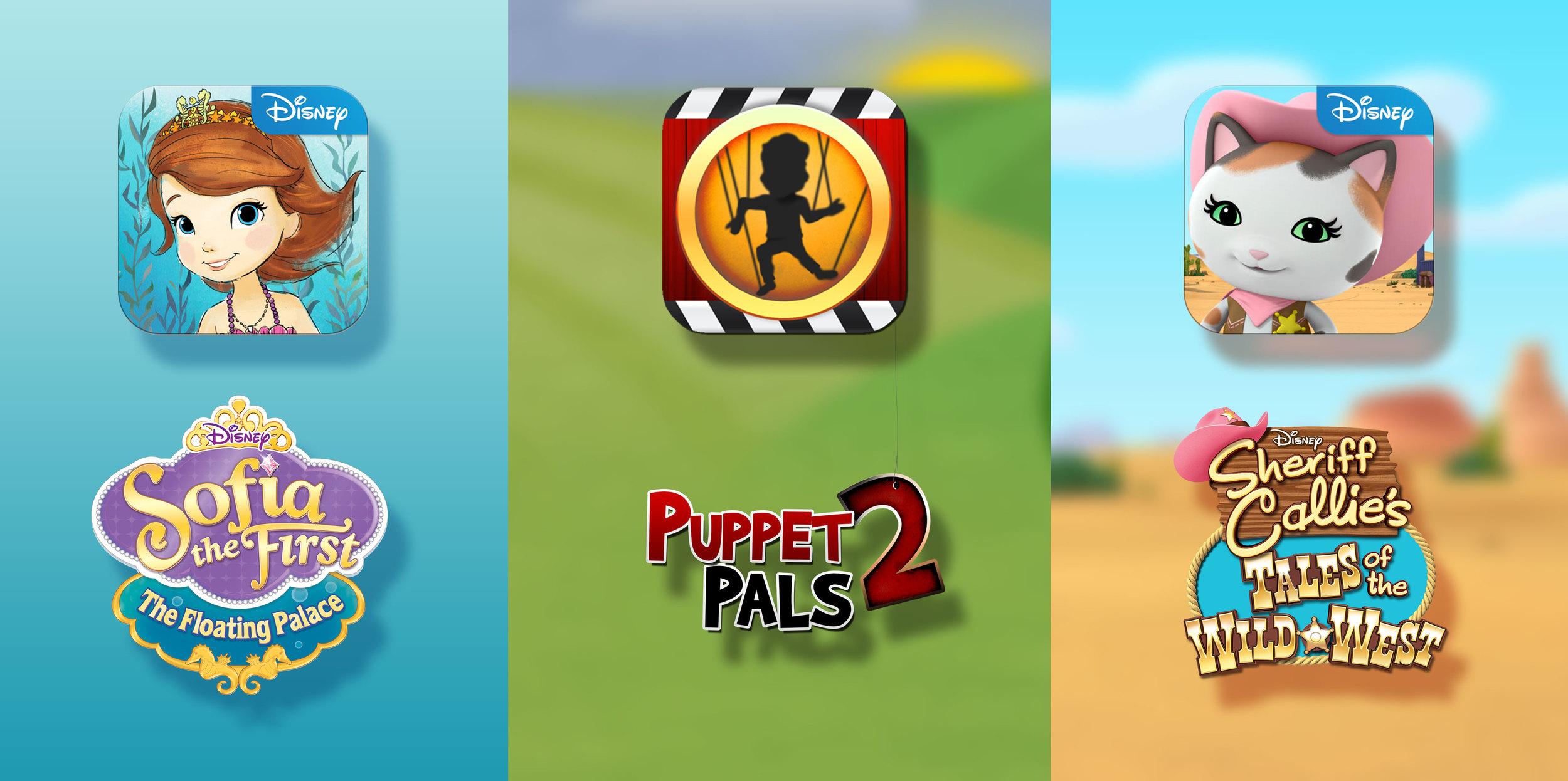 • Sofia   • PuppetPals2   • Sheriff Callie
