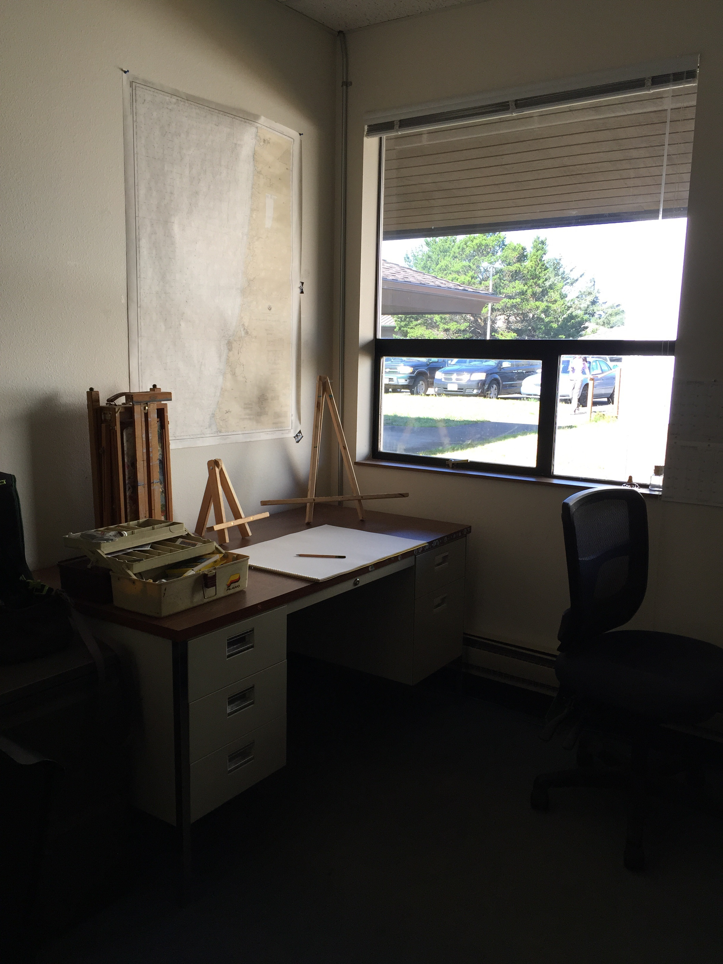 Settling into my studio