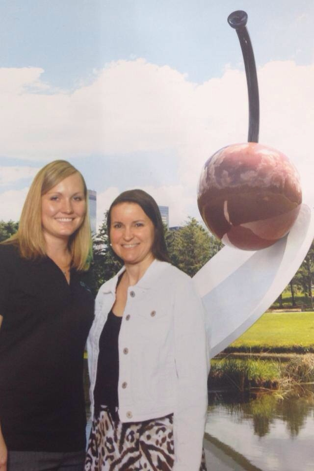 Randi and Deanna checked out the Green Screen booth the Star of the North provided for the Exhibitor Hall.