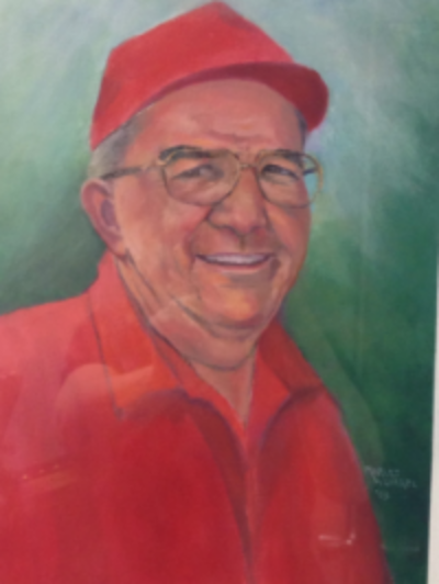Robert Renstrom, painted by his sister, Marlys Worrel in 2003