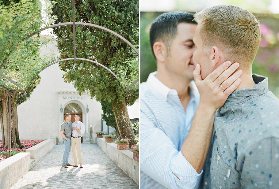Förra året blev det många vändor till Italien för att fotografera bröllop för min del, under en resa fotograferade jag även en förlovning - Tom & Frank. De härligaste männen någonsin! De bor i San Fransisco, gifter sig på Hawaii och jag fotograferade dem i Ravello på Amalfikusten. Världens största bröllopsblogg  Style Me Pretty  har publicerat massa goa bilder på dem och vill ni se ännu fler hittar ni dem på min  bröllopsfotografhemsida.