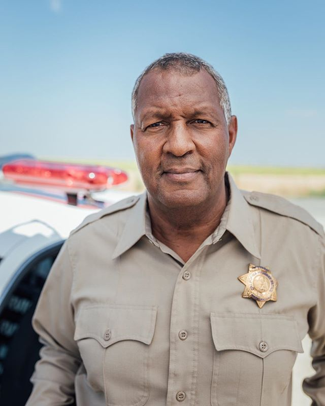 Retired CHP, Skip! This was on set for the No On 6 campaign.