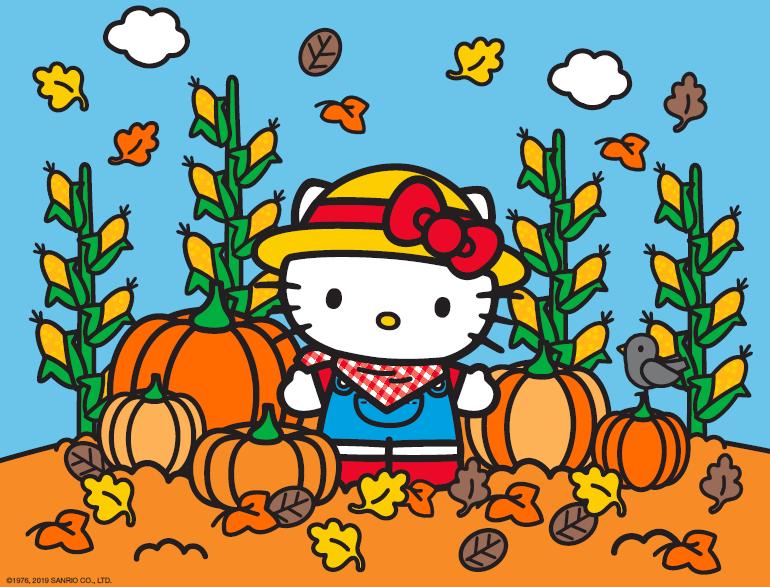 Hello Kitty 2019 Pumpkin Patch
