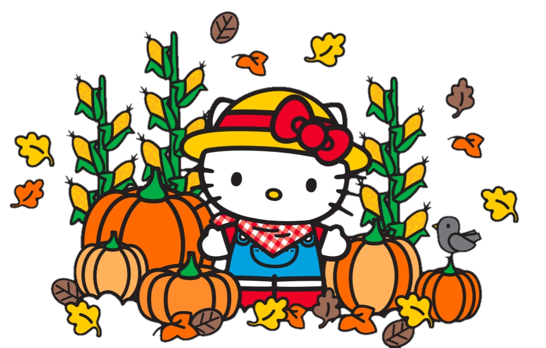 Hello Kitty Pumpkin Patch 2019