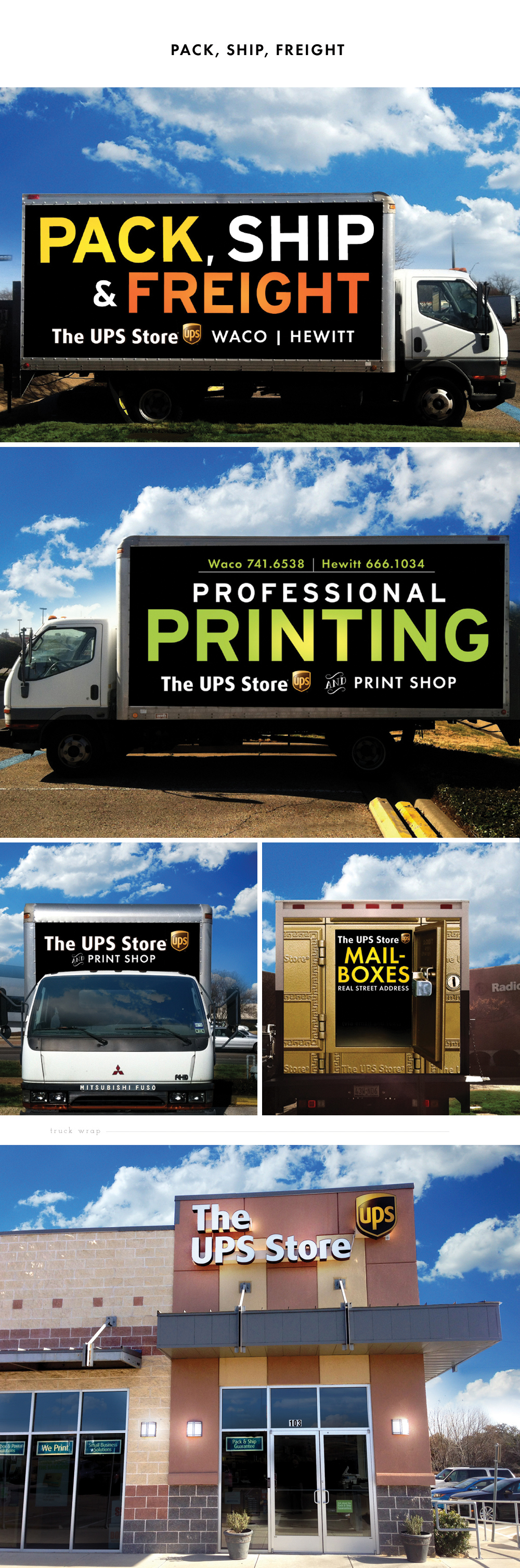 UPS Box Truck design