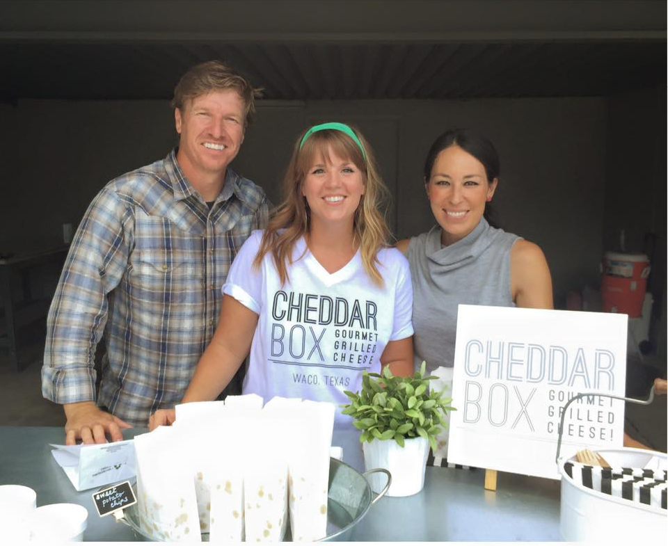 Cheddar Box Magnolia Market Cedar Gandy