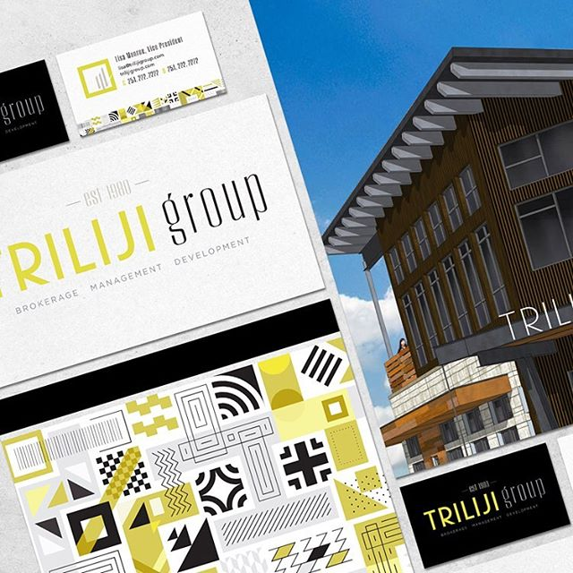 Considering each client's needs, and even individual style when working on a rebrand is one of my favorite design challenges. When elements are used with a purpose, the added details are worth it. For this client, creating an element that represented Brokerage, Property Management and Development was important to their brand image, and needed for this rebrand to be a success for them. Designing this abstract/modern brand mark of 3 vertical lines resembling buildings casting shadows was the perfect added element to complete their company's new visual branding. We are all delighted with the modern and energetic look of this rebrand.  @hoeflerco #typography #logodesign #rebranding #clientgoals #corporate #corporatemarketing #marketingcollateral #visualbranding #layoutdesign #graphicdesign #cedargandy #PublicationDesign #brandmessage #marketing #wacographicdesign #printdesign #texasdesigner