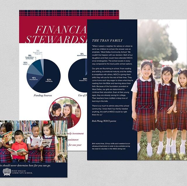 """What @wdcschool is offering their students, teachers and community as a whole, is changing the future for all involved. """"Proving that were you begin should never determine how far you can go!"""" #typography #clientgoals #corporate #corporatemarketing #marketingcollateral #visualbranding #layoutdesign #graphicdesign #cedargandy #PublicationDesign #brandmessage #marketing #wacographicdesign #printdesign #texasdesigner"""
