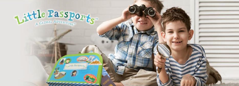 Little Passports - Ecommerce, subscription, kids, education
