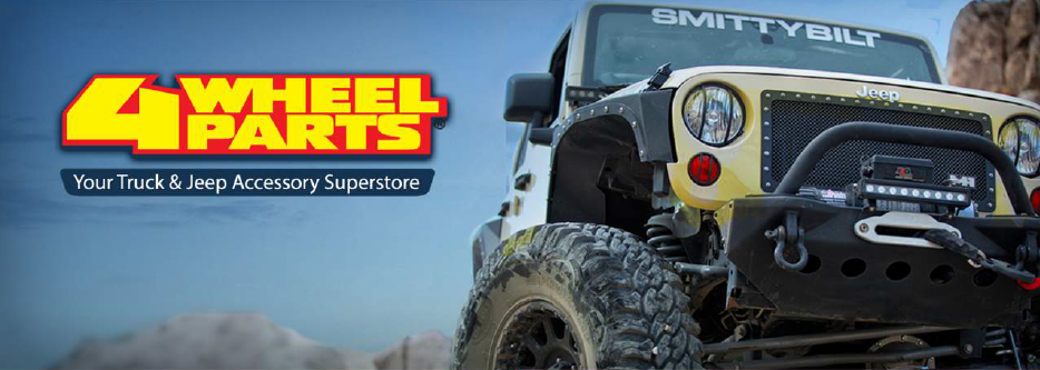 4WheelParts - Ecommerce, auto parts online, product listing and shopping ads