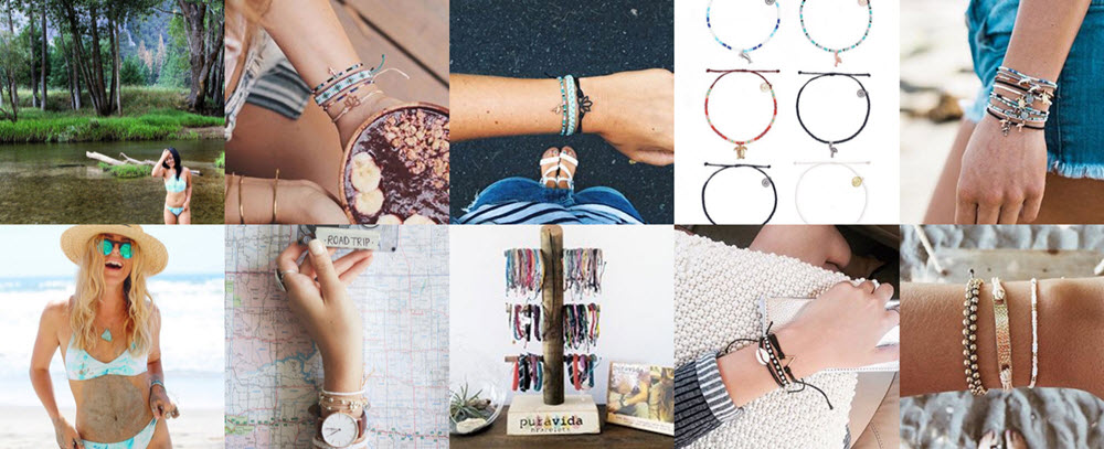 Pura Vida Bracelets - Delivering an 18% increase in return on ad spend using carousel ads on Instagram.