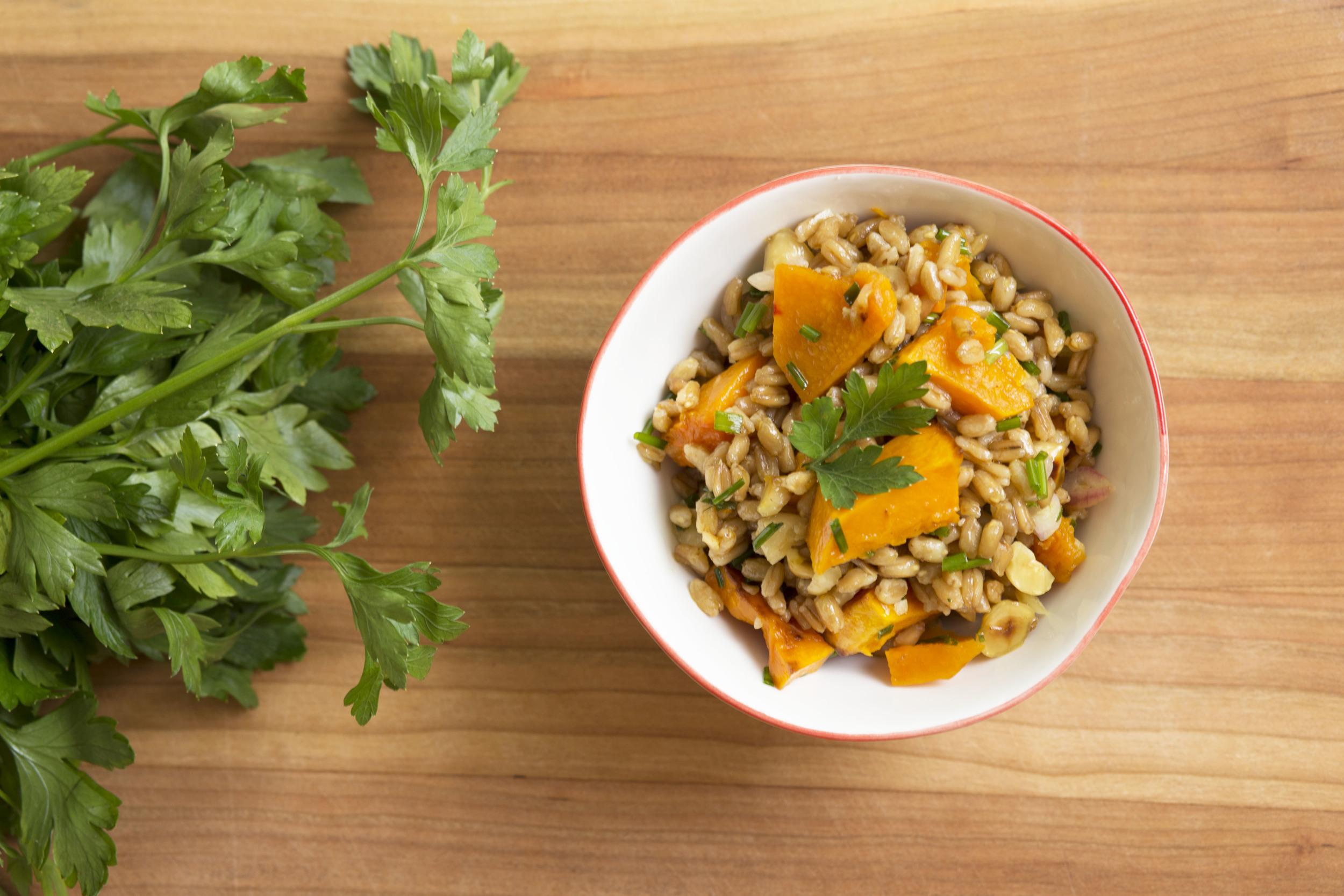 Butternut Farro Salad