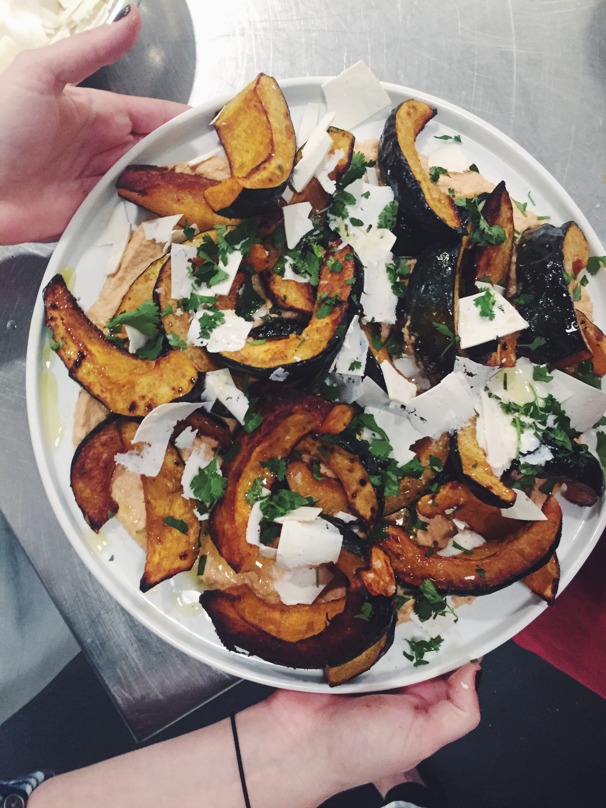 Roasted Squash and Smoked Cashew