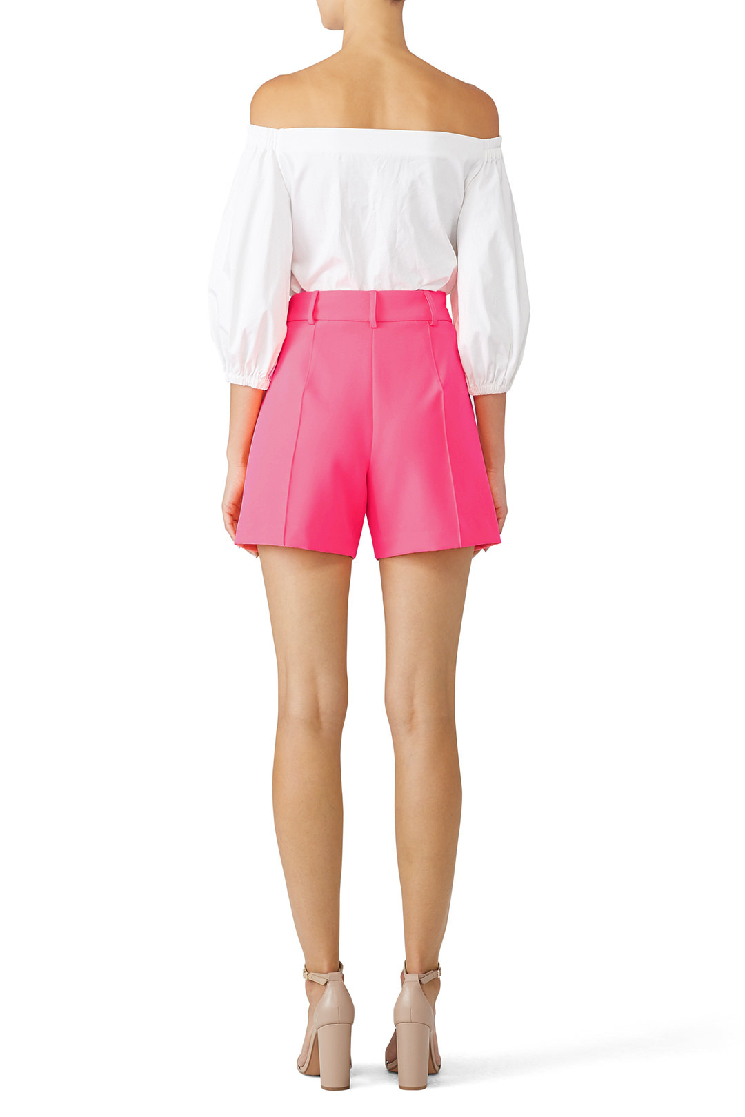 Milly Pintuck Pink Short // $245   I mean, this is so me I can't even explain. If you don't understand you probably should leave my site.