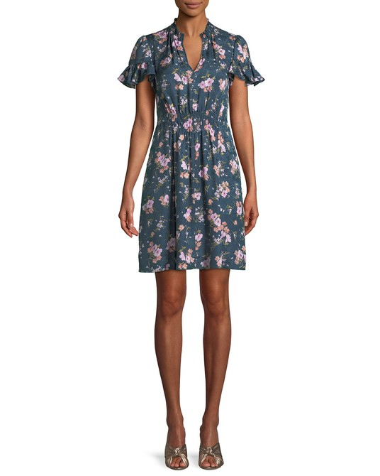 Rebecca Taylor Emilia Floral Print Silk Dress // $395   This is one of my all time favorite dresses. It has pockets! Gets me every time. And while it may seem steep (I was convinced by a stylist) I have never regretted it, or failed to be complimented on it.