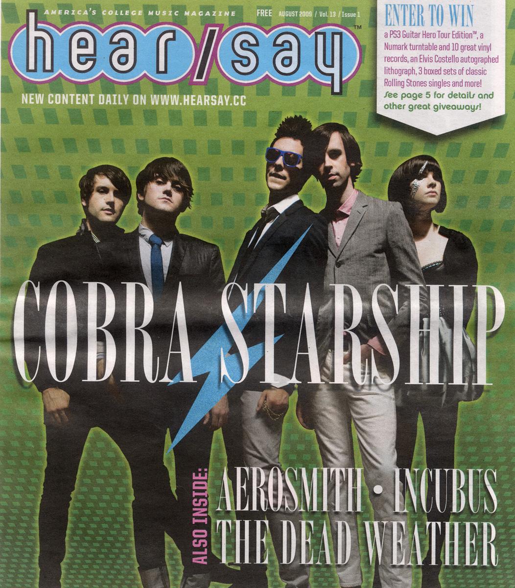 Cobra Starship - Hear Say - August 2009 - Cover.jpg