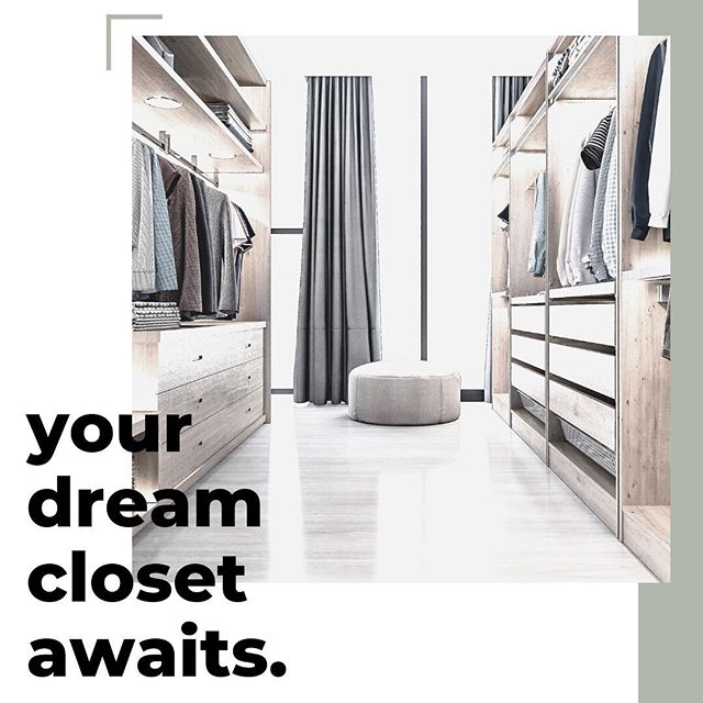 Imagine how many more shoes you could buy if only you had a better closet 😜 and you can roll the cost into your loan! I mean.. if the shoe fits, right? 👞 👠