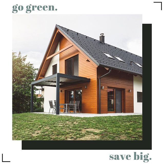 You shouldn't have to choose between an eco-friendly home and a mortgage you can afford. ENTER: our energy-efficient program. DM us to find out how to make green updates your home and save big.