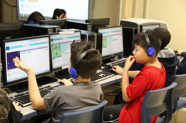 Hour of Code at Jackson Elementary School Fort Campbell, KY