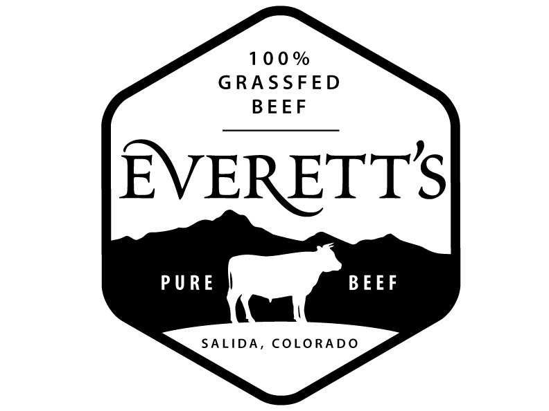 Logo for Everett Ranch Beef