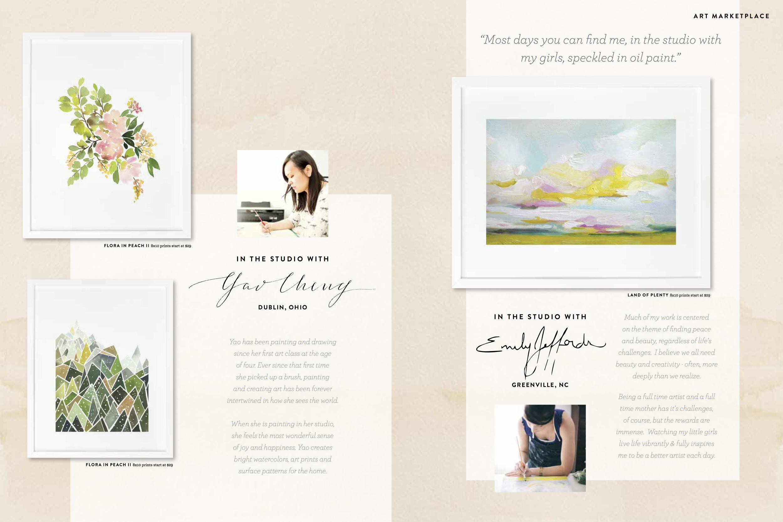 artist Emily Jeffords for Minted