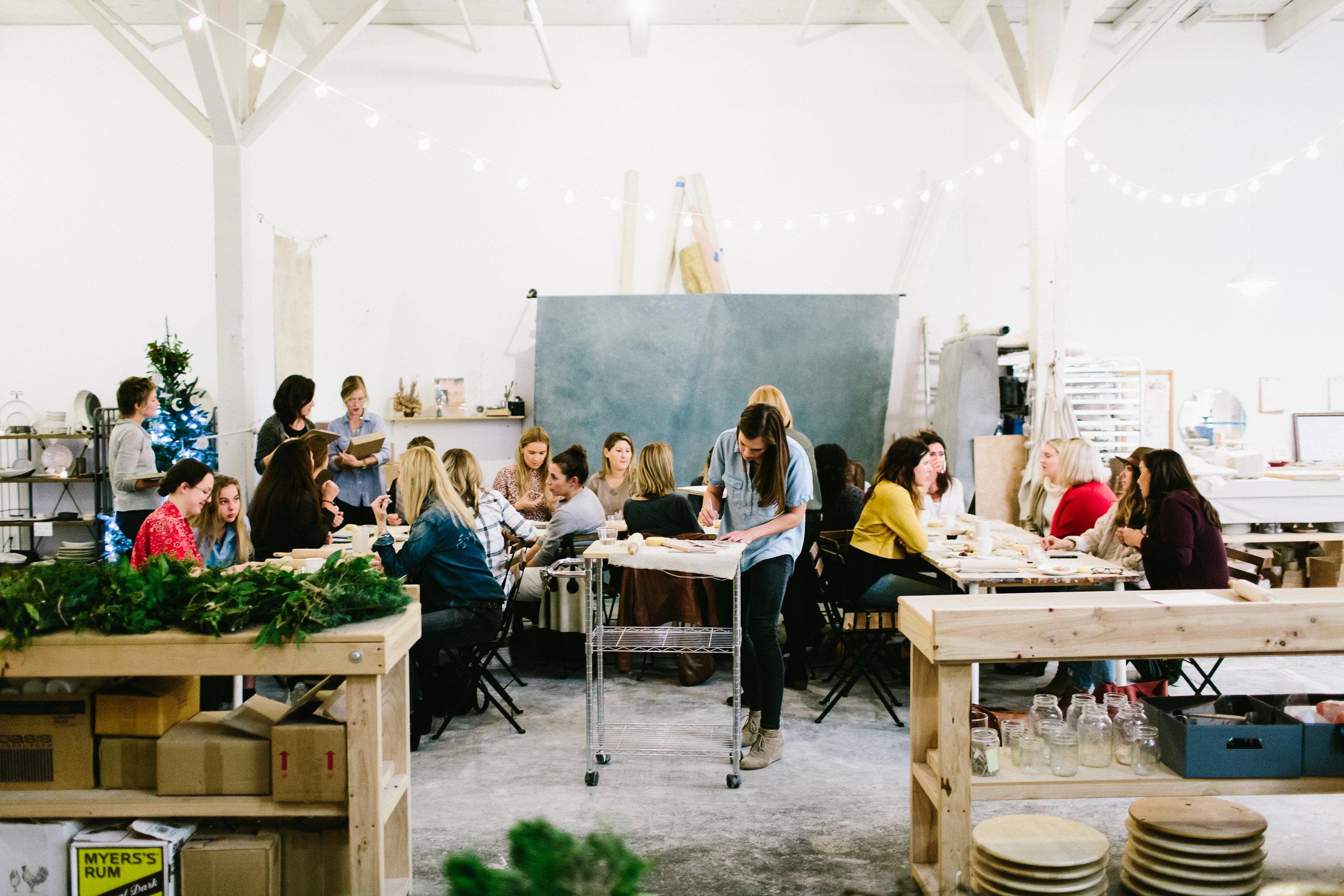 Handmade Studio Vintage Florals Holiday Workshop - 049.jpg