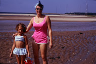 Mom and I at our beloved beach