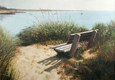 One of my favorite Cape Cod artists- Vivien Oswell, in her nineties and still painting strong.