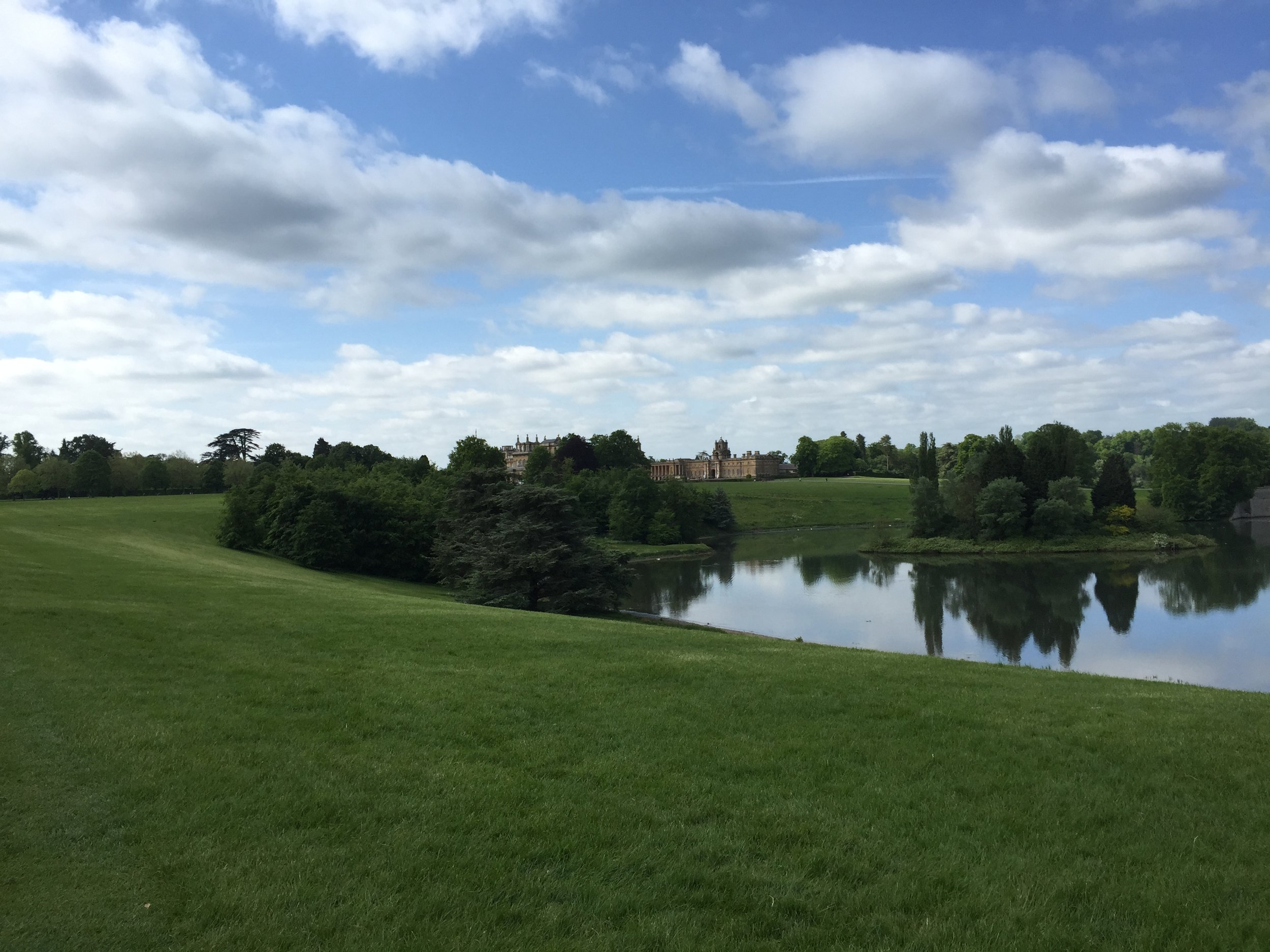 Blenheim Palace 2015. We spent one day there, exploring the grounds and the house. A very special and fun trip taken with my husband and two sons.