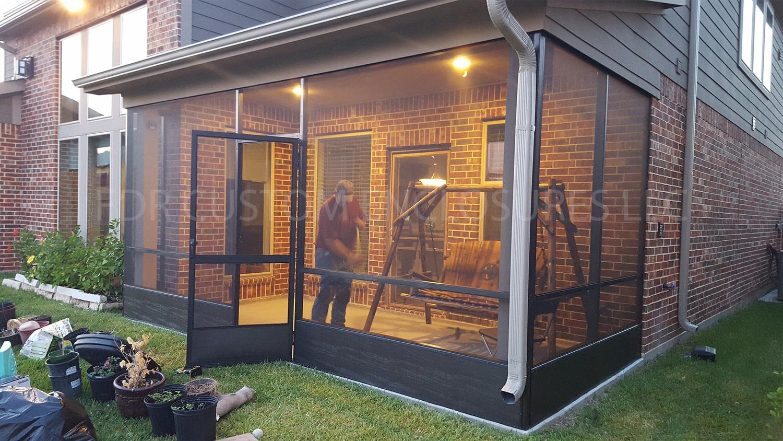 Screened Patio Enclosures Fdr Custom Enclosures Llc