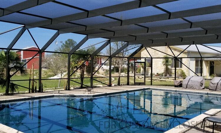 Affordable Aluminum Pool Enclosures Rescreens And Repairs Fdr Custom Enclosures Llc