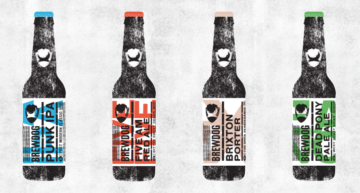 Brew Dog Beers (source Brewdog website)